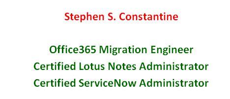 Lotus Notes Domino Administrator Resume